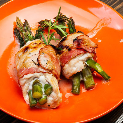 Chicken Asparagus Tenderloins